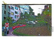 Lombard Street In San Francisco-california  Carry-all Pouch