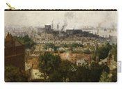 London And The Thames From Greenwich Carry-all Pouch by John Auld