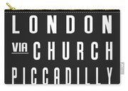 London City Subway Carry-all Pouch