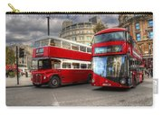 London Double Decker Buses Carry-all Pouch