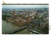 London England From The London Eye Carry-all Pouch