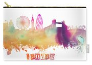 London England Skyline Pastel Carry-all Pouch