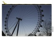 London Eye And New Moon Carry-all Pouch