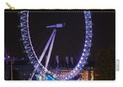 London Eye By Night Carry-all Pouch