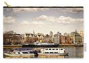 London From Thames River Carry-all Pouch
