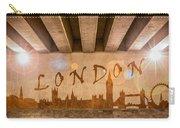 London Graffiti Skyline Carry-all Pouch