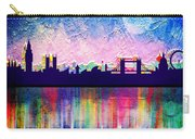 London In Blue  Carry-all Pouch
