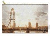 London Skyline At Dusk 01 Carry-all Pouch