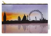 London Skyline At Sunset Carry-all Pouch