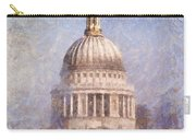 London St Pauls Fog 02 Carry-all Pouch