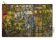 London, Westminster Pen & Ink With Wc On Paper Carry-all Pouch