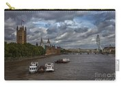 London's Thames River Carry-all Pouch