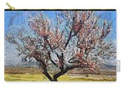 Lone Almond Tree In Bloom Carry-all Pouch