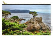 Lone Cypress By Diana Sainz Carry-all Pouch