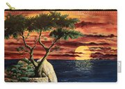 Lone Cypress Carry-all Pouch