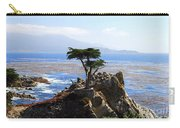 Lone Cypress Tree In Monterey In California Carry-all Pouch