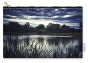 Lone Duck At Dusk Carry-all Pouch