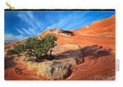 Lone Juniper Carry-all Pouch by Inge Johnsson