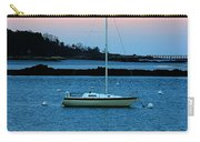 Lone Sailboat At York Maine Carry-all Pouch