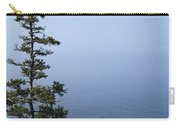 Lone Tree By The Water In Acadia National Park Carry-all Pouch
