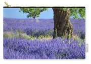Lone Tree In Lavender Carry-all Pouch