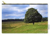 Lone Tree On Grassy Knoll Carry-all Pouch