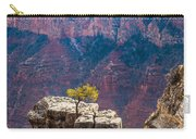 Lone Tree On Outcrop Grand Canyon Carry-all Pouch