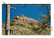 Lone Tree On The Mountain Carry-all Pouch