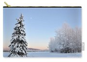 Lone Winter Spruce - Alaska Carry-all Pouch