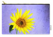 Lone Yellow Daisy Carry-all Pouch