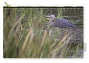 Lonely Heron Carry-all Pouch