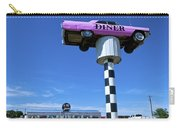 Lonely Diner With Pink Cadillac Carry-all Pouch