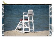 Lonely Lifeguard Station At The End Of Summer Carry-all Pouch
