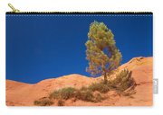Lonely Pine On The Ocher Hill Carry-all Pouch