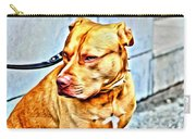 Lonely Pit Bull Carry-all Pouch