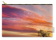 Lonesome Tree Sunrise Carry-all Pouch