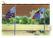 Lonestar Park - Backstretch - Photopower 2205 Carry-all Pouch