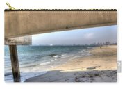 Long Beach From Beneath The Pier Carry-all Pouch