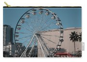 Long Beach In Technicolor Carry-all Pouch