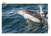 Long-beaked Common Dolphin Porpoising Carry-all Pouch