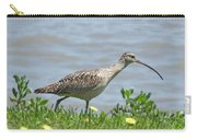 Long Billed Curlew At Palacios Bay Tx Carry-all Pouch