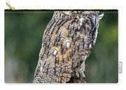 Long-eared Owl 4 Carry-all Pouch