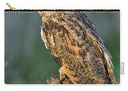 Long-eared Owl 8 Carry-all Pouch