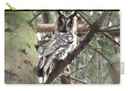 Long Eared Owl At Attention Carry-all Pouch