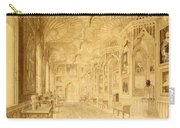 Long Gallery At Strawberry Hill Carry-all Pouch