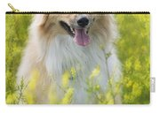 Long Haired Mixed Breed Carry-all Pouch