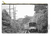 Long Island Railroad Pulling Into Station Carry-all Pouch