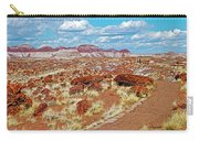 Long Logs Trail In Rainbow Forest In Petrified Forest National Park-arizona  Carry-all Pouch