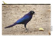 Long Tailed Glossy Starling  Carry-all Pouch