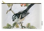 Long Tailed Tit And Rosehips Carry-all Pouch